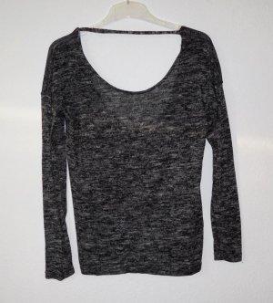 Pullover Sweater / Mango / 40 / vintage rückenfrei Blogger