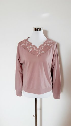 Pullover Sweater Only mit Spitze