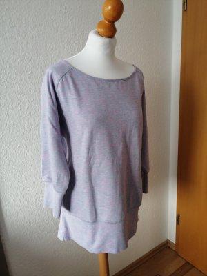 Pullover Tchibo Active Pulli meliert rosé lila flieder 40 42
