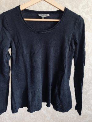 Tom Tailor Crewneck Sweater dark blue-blue