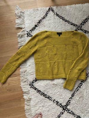 Pullover Topshop in senfgelb Gr 34