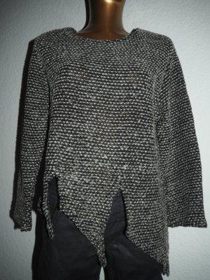 Pullover Tweed asymmetrisch Gr.36 Casual Look