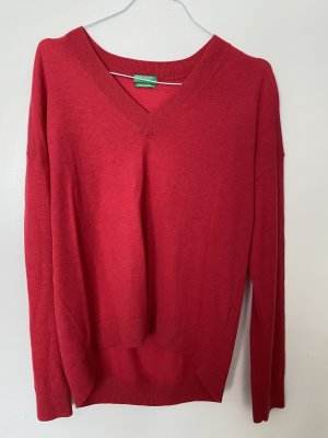 United Colors of Benetton Cashmere Jumper red
