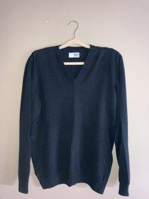 Der Walter V-Neck Sweater black