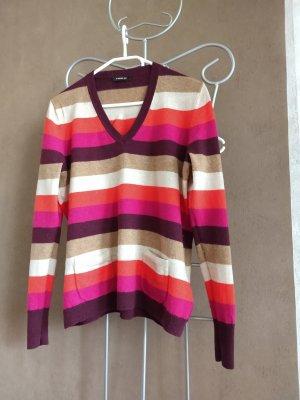 Public Pullover in cashmere multicolore