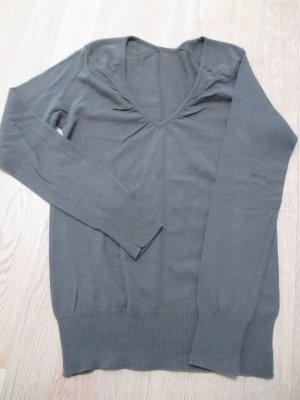 Pullover#V-Ausschnitt#leicht