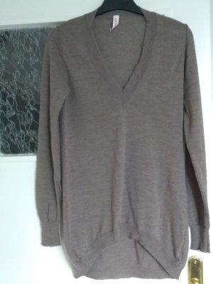 Kontatto V-Neck Sweater beige wool