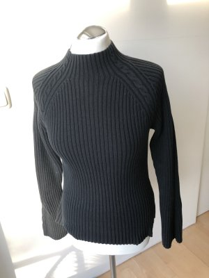 Tommy Hilfiger Knitted Sweater black cotton