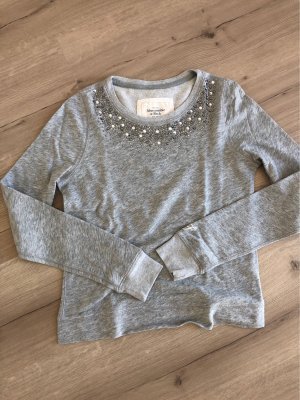 Abercrombie & Fitch Crewneck Sweater grey