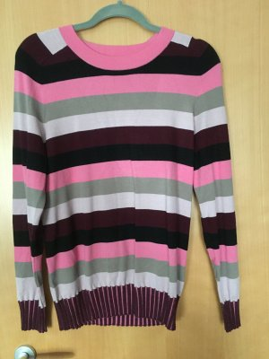 Air Field Long Sweater multicolored viscose