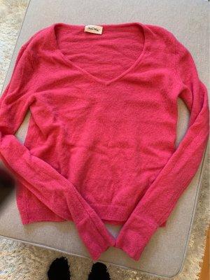 American Vintage Wool Sweater raspberry-red