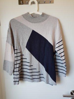 Armedangels Sweter z krótkim rękawem jasnoszary
