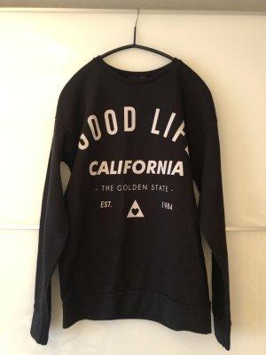 Pullover von Asos Good Life California Aufdruck