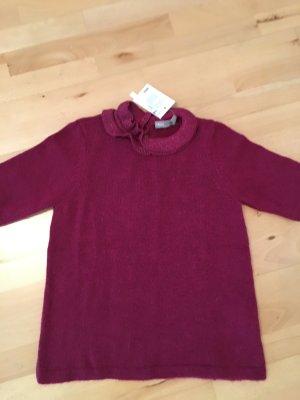 Asos Short Sleeve Sweater magenta