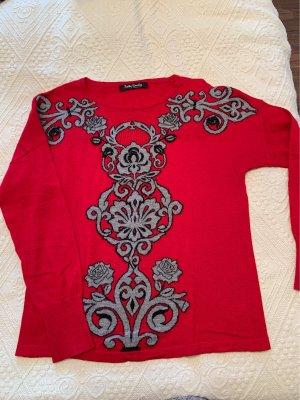 Betty Barclay Kraagloze sweater veelkleurig