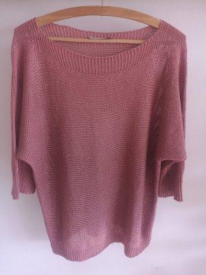 Betty & Co Knitted Sweater salmon-pink polyacrylic