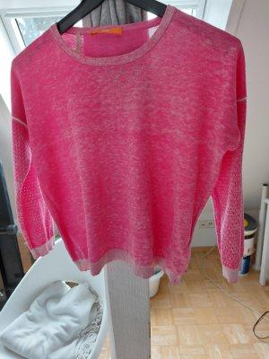 Boss Orange Kraagloze sweater roze