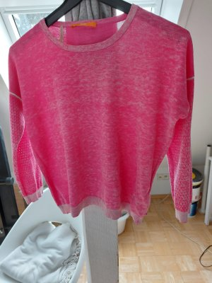 Boss Orange Crewneck Sweater pink