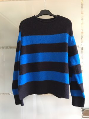 Closed Wool Sweater black-cornflower blue