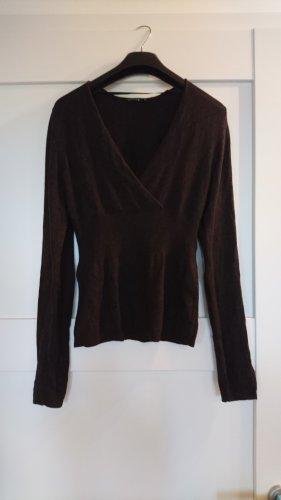 Pullover von COMMA - dunkelbraun