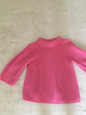 Fendi Maglione di lana rosa Tessuto misto