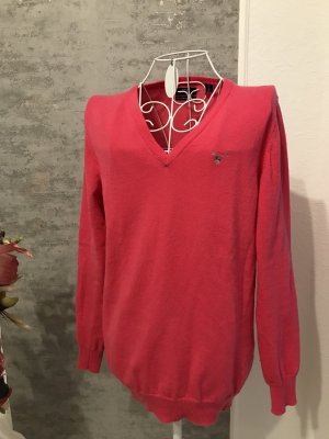 Gant Wool Sweater neon red wool