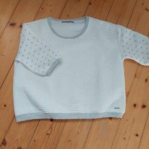 Gaudi Short Sleeve Sweater white