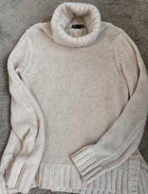Alexander Wang for H&M Sweter z golfem kremowy-w kolorze białej wełny