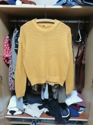 Devided von H&M Wool Sweater sand brown-yellow