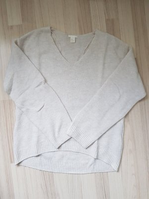 H&M Oversized Sweater oatmeal
