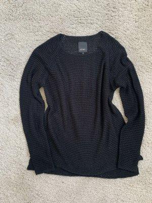 Ichi Pull tricoté noir