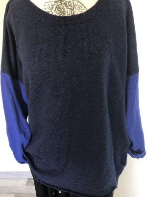 Lieblingsstück Crewneck Sweater dark blue-blue viscose