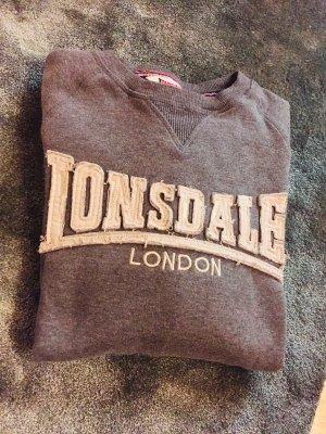 Lonsdale Capuchon sweater grijs