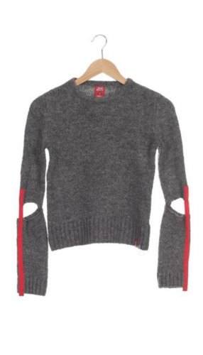 Miss Sixty Wool Sweater grey-red