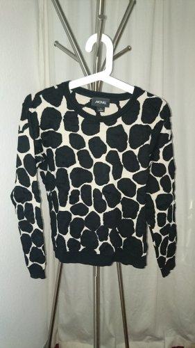 Monki Oversized Sweater black-cream