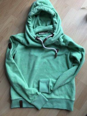 Naketano Capuchon sweater munt