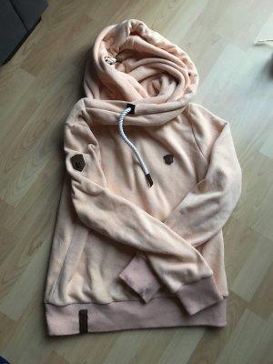 Naketano Capuchon sweater abrikoos