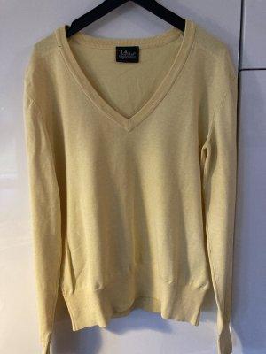 Pullover von Peak, gelb, Größe L