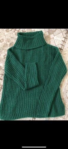 Primark Jersey de cuello alto verde