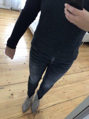 Rag & bone Maglione di lana antracite-viola scuro