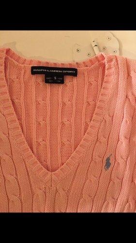 Ralph Lauren Sport Pullover a maglia grossa rosa-rosa