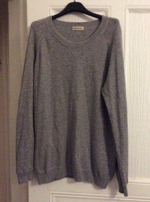 Repeat Pullover in cashmere grigio