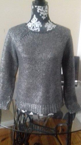 Rich & Royal Maglione girocollo argento-grigio