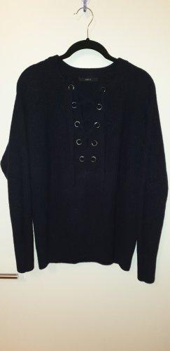 Set Maglione di lana blu scuro Lana