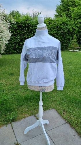 Snipes Sweat Shirt white-grey