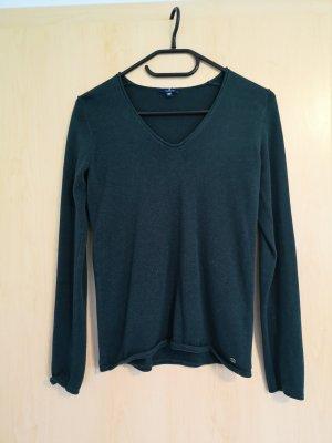 Pullover von Tom Tailor, dunkelgrün Gr 34