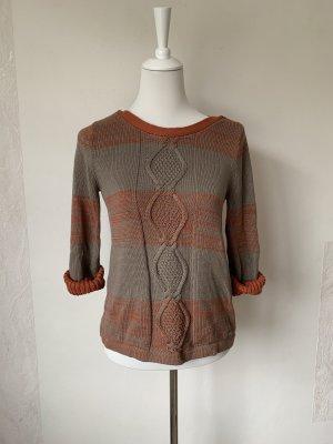 Pullover von Tom Tailor mit Zopfmuster