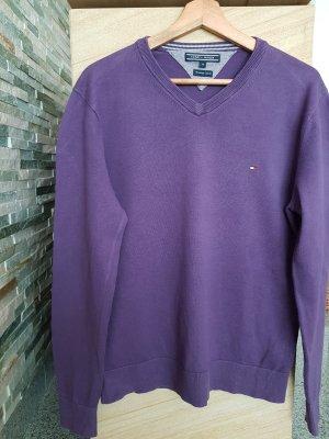 Tommy Hilfiger Maglione oversize viola-grigio
