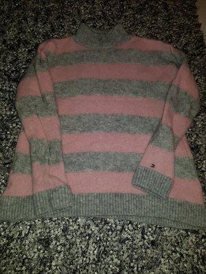 pullover von tommy hilfiger in rose grau