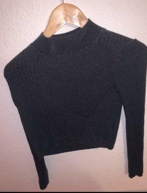 Topshop Pull tricoté gris-gris anthracite